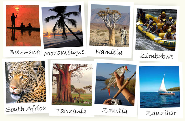 African Safari Locations